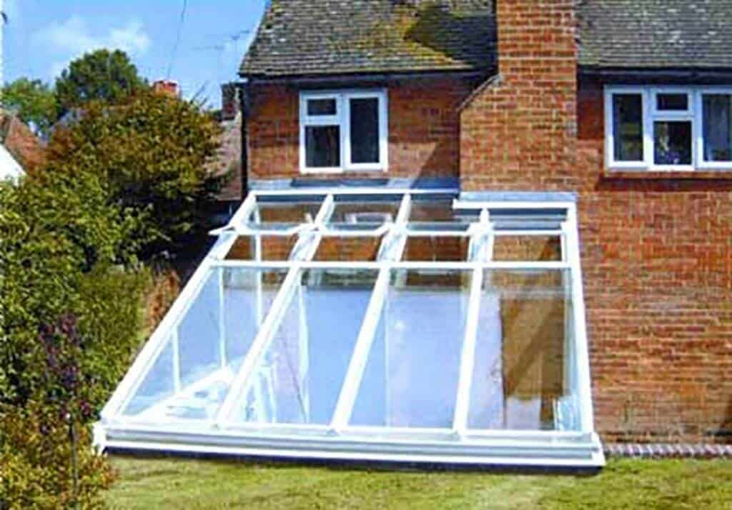 Lean to conservatories polar bear windows for Adding a conservatory