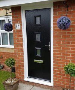 New modern composite door