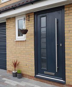New modern composite door bristol