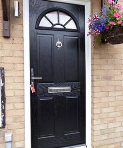 New stylish composite door