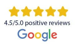 5 star review Google